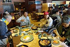 外出での食事|岸和田光生療護園|光生会